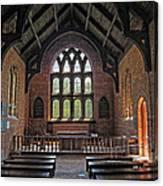 Jamestown Church Interior Canvas Print