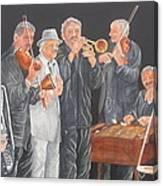 Jammin' Canvas Print