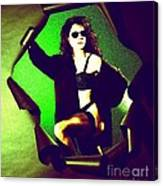 Jane Joker 2 Canvas Print