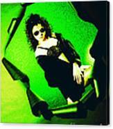 Jane Joker 3-2 Canvas Print