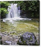 Janet's Foss Yorkshire Dales Uk Canvas Print