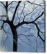 January Night Canvas Print