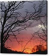 January Sunrise 4 Canvas Print