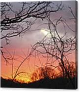 January Sunrise 5 Canvas Print