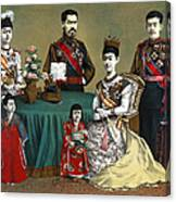 Japan: Imperial Family Canvas Print