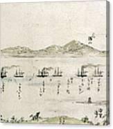 Japan: Matthew Perry, 1854 Canvas Print