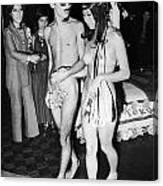 Japan: Nude Wedding, 1970 Canvas Print
