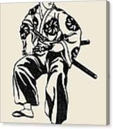 Japan: Samurai Canvas Print
