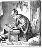 Japan: Wood Engraver Canvas Print