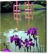 Japanese Garden Brooklyn New York Canvas Print