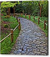 Japanese Tea Garden Path Canvas Print
