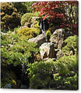 Japanese Tea Gardens San Francisco Canvas Print