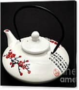 Japanese Teapot Canvas Print