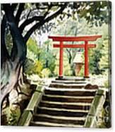 Japanese Tori Canvas Print