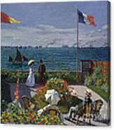Jardin A Sainte Adresse Canvas Print