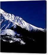 Jasper - Leah And Sampson Peaks Canvas Print