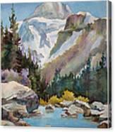 Jasper In Colour Canvas Print