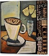 Java Coffee Languages Poster Canvas Print