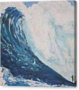 Jaws Peahi Maui Hawaii Canvas Print