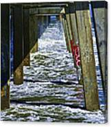 Jax Beach Pier Canvas Print