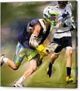 Jaxx Lacrosse 1 Canvas Print