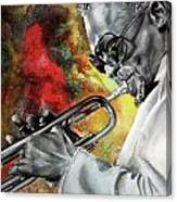Jazz Fire Canvas Print