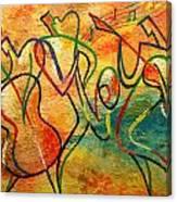 Jazz-funk Canvas Print