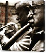 Jazz Legends Al Hirt And Pete Fountain Canvas Print
