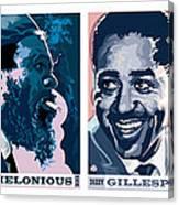 Jazz Portrait Series Part 1 Canvas Print