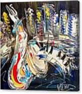 Jazzzzzzzzzzz Canvas Print