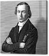 Jean Baptiste Andr� Dumas Canvas Print