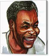Jean Pierre Dikongue Pipa Canvas Print