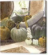 Jennifer's Pumpkins Canvas Print