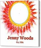 Jenny Woods Canvas Print