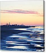 Jersey Shore Sunrise Canvas Print