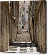 Jerusalem Steps Canvas Print