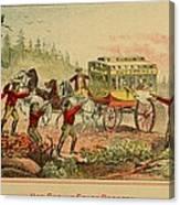 Jesse And Frank James, Cole, John Canvas Print