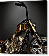 Jesse James Bike 2 Detroit Mi Canvas Print