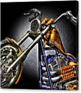 Jesse James Bike Detroit Mi Canvas Print