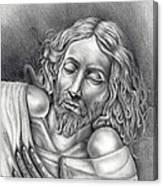 Jesus At Rest Canvas Print