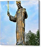 Jesus Christ Statue Canvas Print