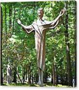 Jesus Statue Canvas Print