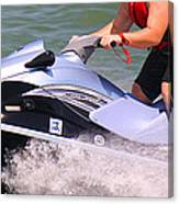 Jet Ski Speed Canvas Print
