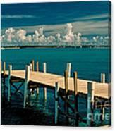 Jetty To Stocking Island Canvas Print