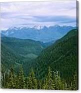 Jewell Basin- Mt Canvas Print