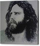 Jim Morrison Last Year Of Life Canvas Print