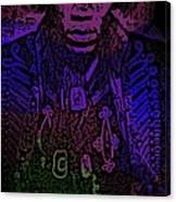 Jimi Canvas Print