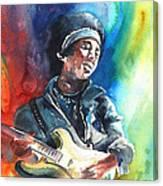 Jimi Hendrix 02 Canvas Print