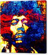 Jimi Hendrix 3 Canvas Print
