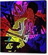 Jimi Hendrix Number 22 Canvas Print